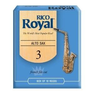 Rico Royal Alto Saxophone Reeds, Strength 3.5, 10-pack (RI-RJB1035)