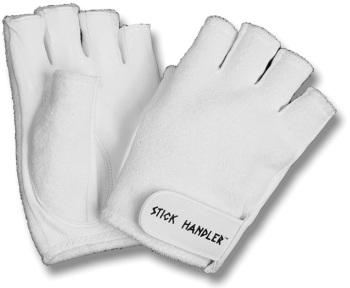 Stick Handler™ Professional Drummer's Gloves White (ST-SHDGW)